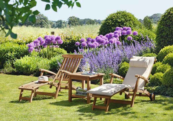 Gartenmöbel aus Teak in englischer Tradition