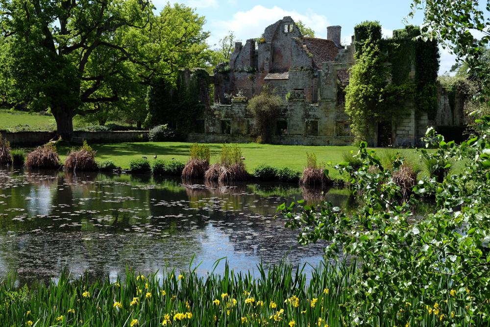 Gartenreise durch Südengland - Scotney Castle