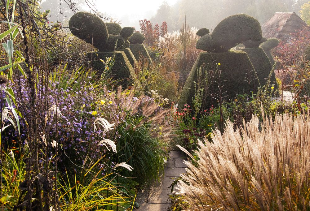 "Carol Casselden, ""Autumn Colour in the Peacock Garden at Great Dixter"" International Garden Photographer of the Year"