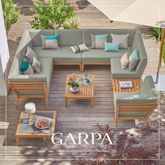 Der neue Garpa Katalog - Valencia Loungemöbel als Beispiel