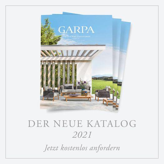 Der neue Garpa Katalog - jetzt kostenlos anfordern