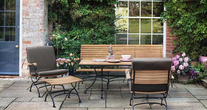 teak gartenmobel fontenay von garpa. Black Bedroom Furniture Sets. Home Design Ideas