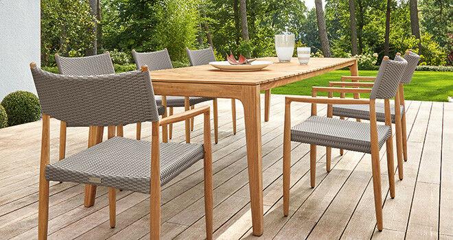 Exklusive Gartenmöbel aus hochwertigen Materialien   Garpa