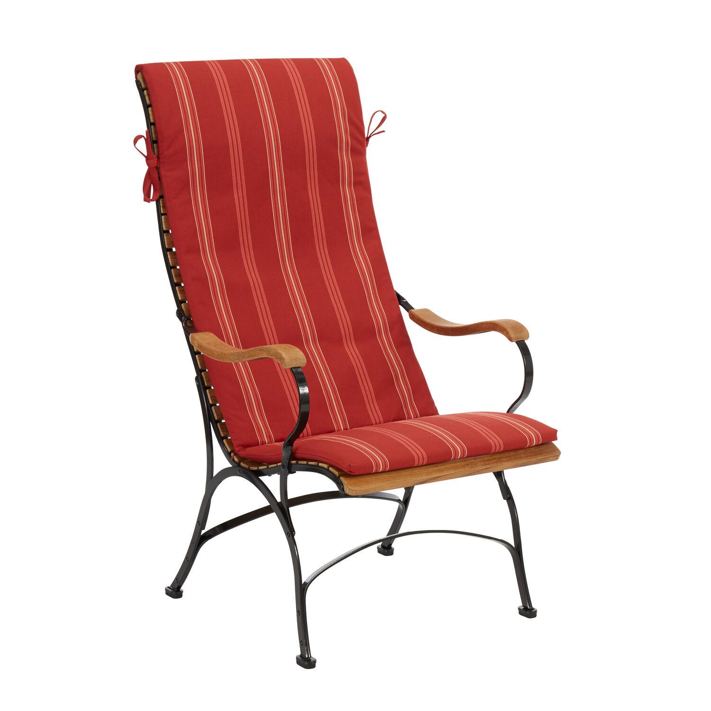 auflage bellevue sessel dessin cranberry stripes garpa. Black Bedroom Furniture Sets. Home Design Ideas