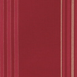 "Auflage Chelsea Bank 150 Dessin ""Cranberry Stripes"""