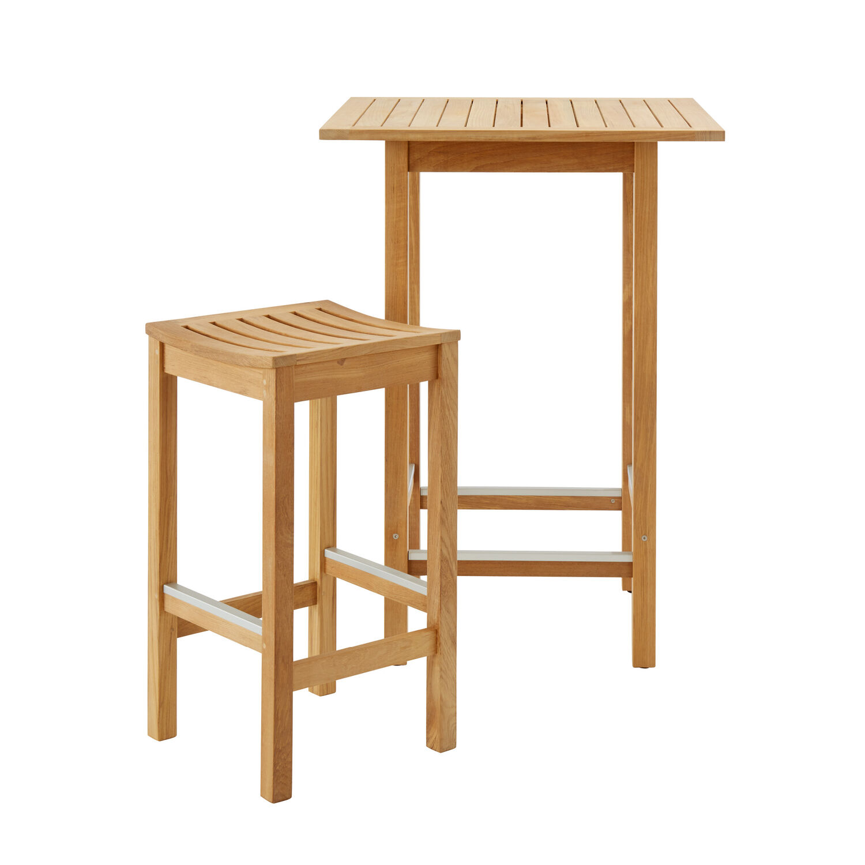 set barm bel teak 2 hocker und tisch garpa. Black Bedroom Furniture Sets. Home Design Ideas