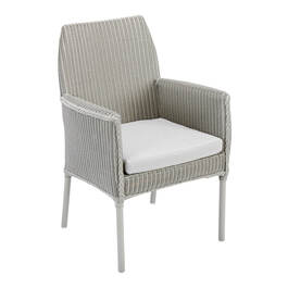 Loom Globe Dining Armchair Pebble Grey