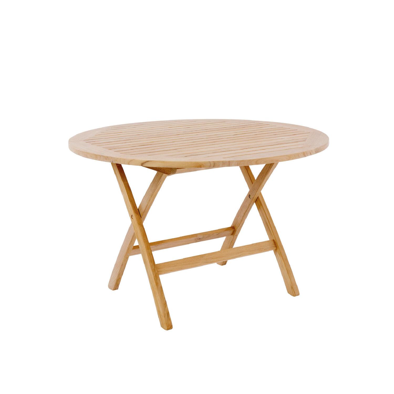 folding table rund 120 mit schirmloch garpa. Black Bedroom Furniture Sets. Home Design Ideas