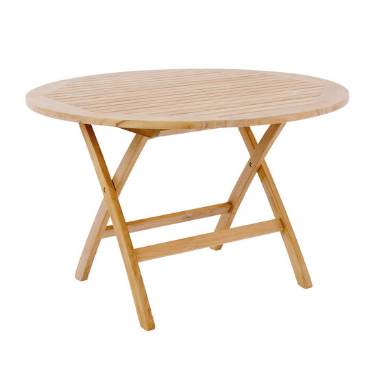 Folding Table Rund 120 Mit Schirmloch Garpa