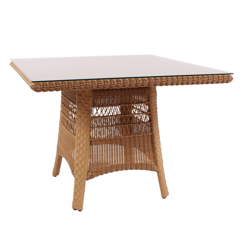 lodge tisch 100 x 100 garpa. Black Bedroom Furniture Sets. Home Design Ideas