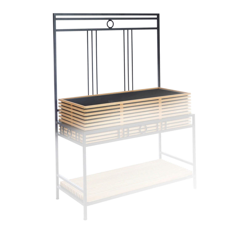 r ckwand bretagne hochbeet garpa. Black Bedroom Furniture Sets. Home Design Ideas