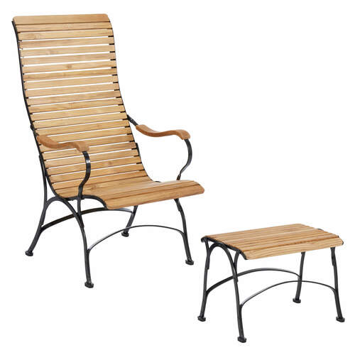 Set bellevue sessel und hocker garpa for Sessel und hocker