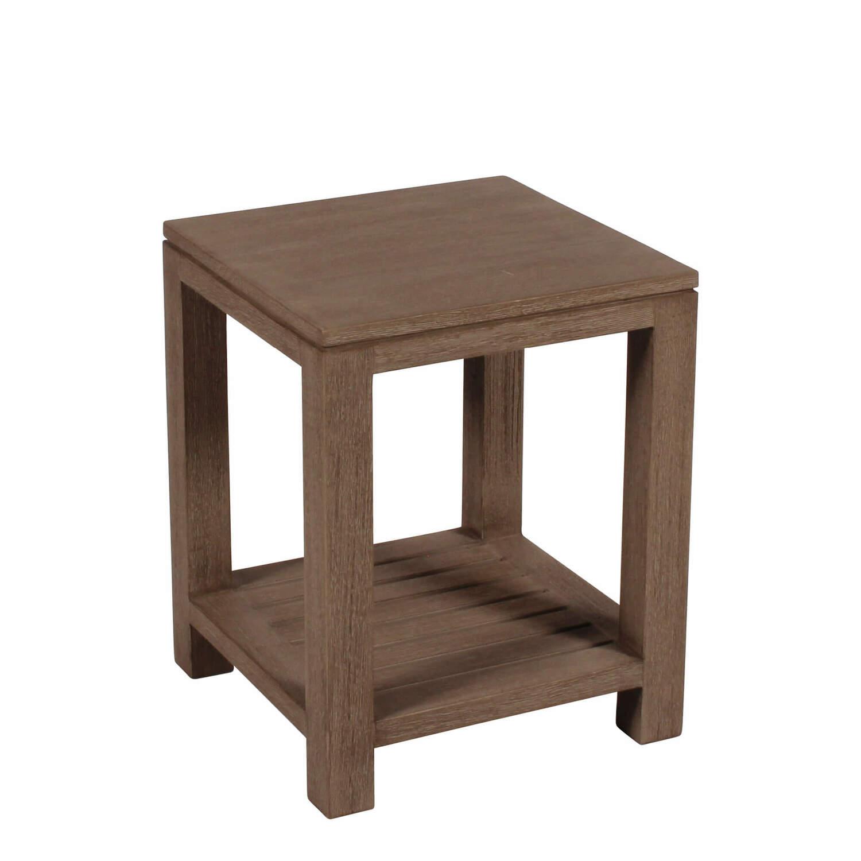lugano tisch klein vintage teak garpa. Black Bedroom Furniture Sets. Home Design Ideas