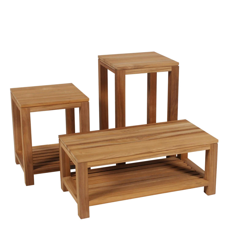 lugano tisch natur set 3 st ck garpa. Black Bedroom Furniture Sets. Home Design Ideas
