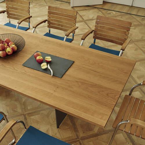 metropol tisch kirschbaum 220x95 garpa. Black Bedroom Furniture Sets. Home Design Ideas
