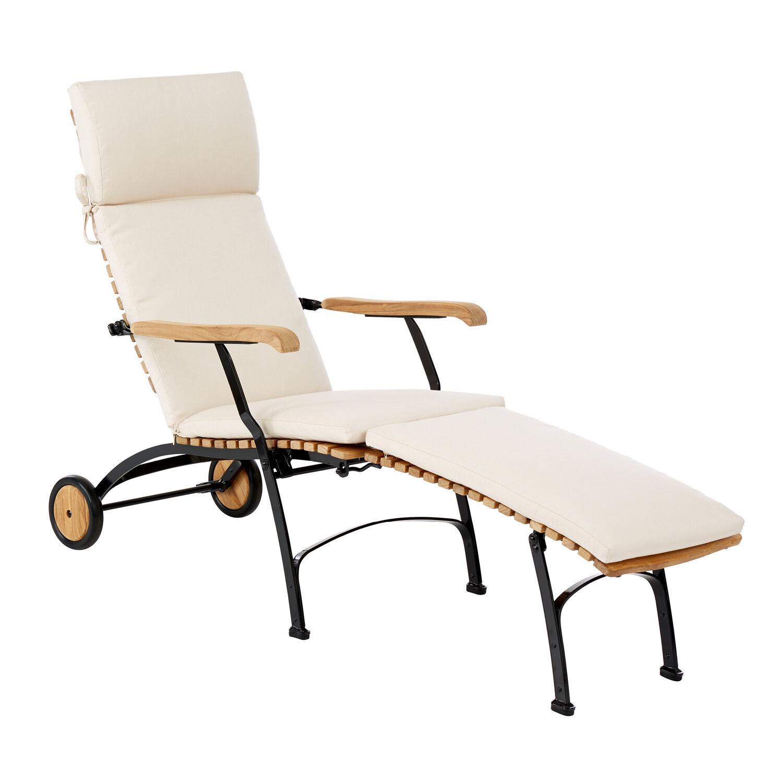auflage fontenay deck chair dessin sand garpa. Black Bedroom Furniture Sets. Home Design Ideas