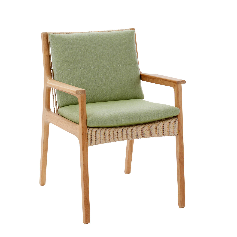 sitz und r ckenkissen clark armlehnstuhl dessin leaf garpa. Black Bedroom Furniture Sets. Home Design Ideas