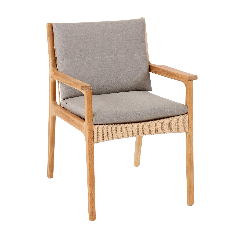 sitz und r ckenkissen clark armlehnstuhl dessin stone garpa. Black Bedroom Furniture Sets. Home Design Ideas