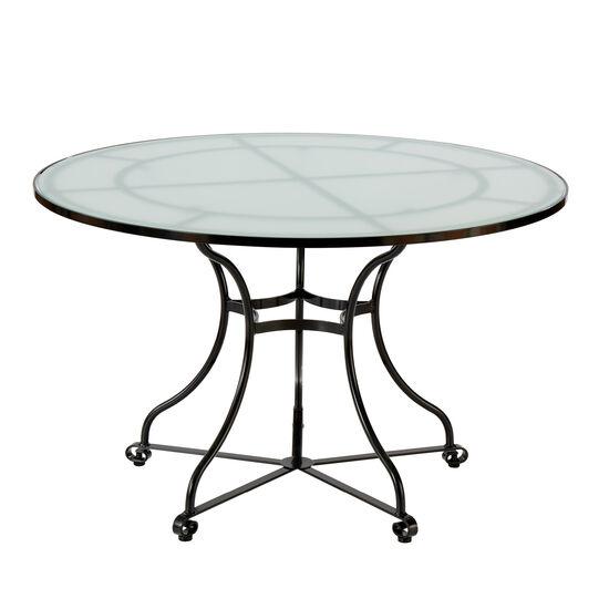 Fontenay Tisch Rund 120 Glasplatte Garpa