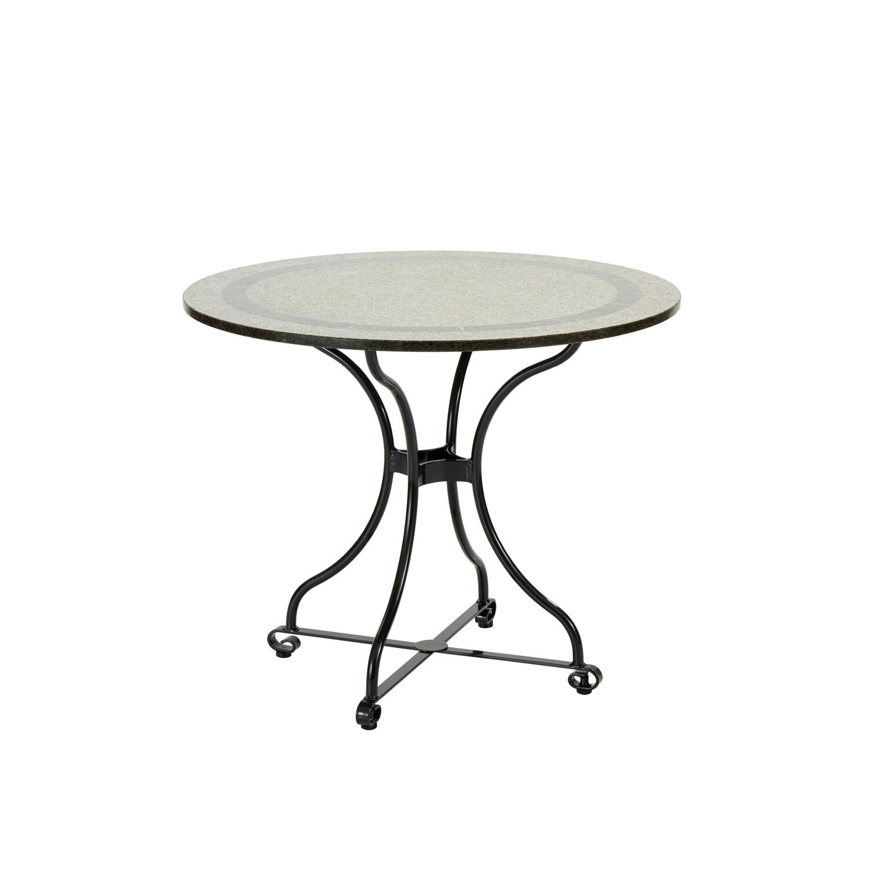 Fontenay Tisch rund 90 Granitplatte