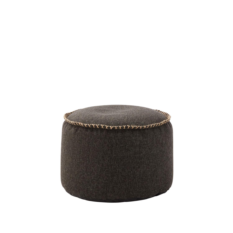 hocker f r sitzsessel anthrazit garpa. Black Bedroom Furniture Sets. Home Design Ideas