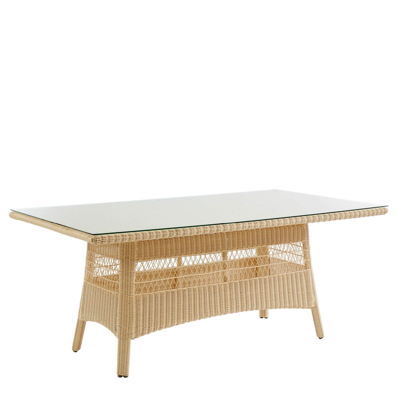 savannah tisch 180 x 100 garpa. Black Bedroom Furniture Sets. Home Design Ideas