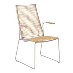 Gartenstühle hochlehner  Hochwertige Gartenstühle aus Teak, Edelstahl, Aluminium - Garpa