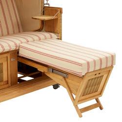strandkorb rot gestreift garpa. Black Bedroom Furniture Sets. Home Design Ideas