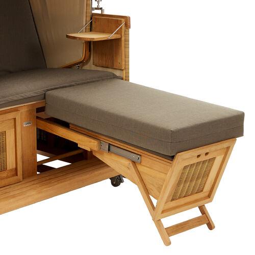 dickes fu kissen f r strandkorb dessin maroon garpa. Black Bedroom Furniture Sets. Home Design Ideas