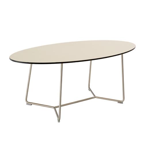 Ronda tisch oval kunstharz mandel garpa - Tisch oval weiay ...