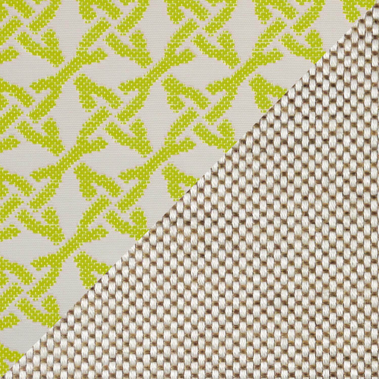 auflage cape coral doppelliege dessin linum mosaik limette garpa. Black Bedroom Furniture Sets. Home Design Ideas